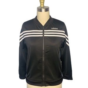 Adidas Retro L/S Zip Up Track Jacket